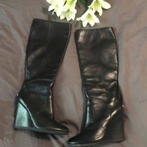 Coach black Della boots